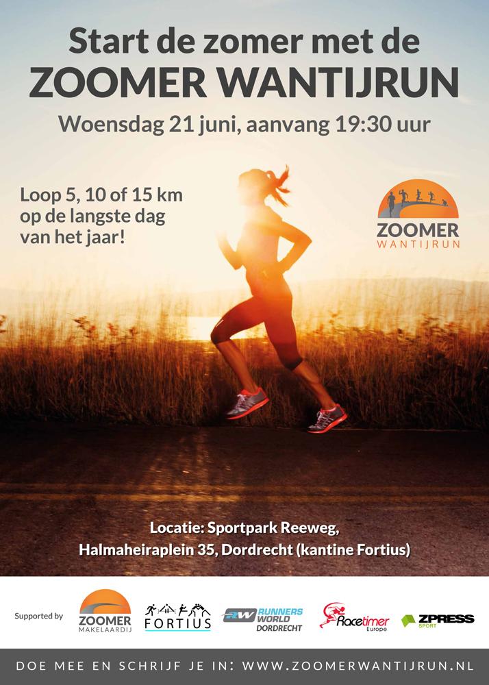 Zoomer Wantijrun hardloopevent Dordrecht