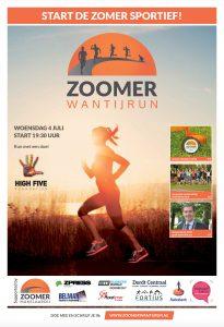 Zoomer Wantijrun krant Hardlopen Dordrecht Fortius